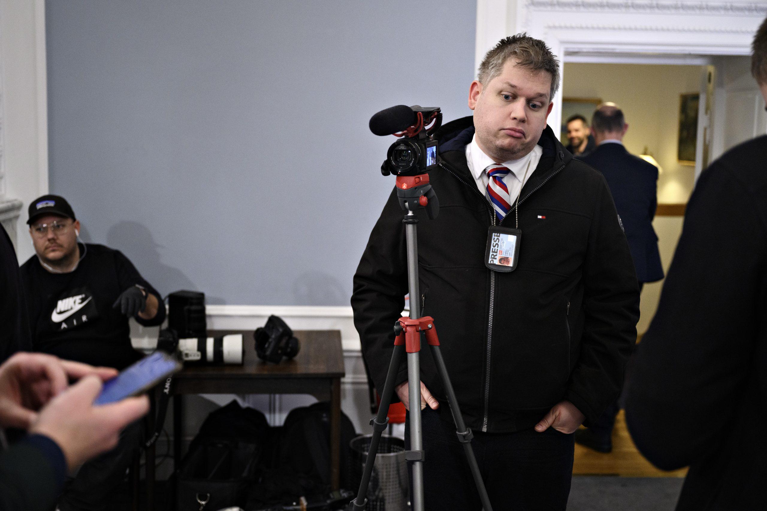 Hvordan endte Rasmus Paludan til pressemødet i Statsministeriet?
