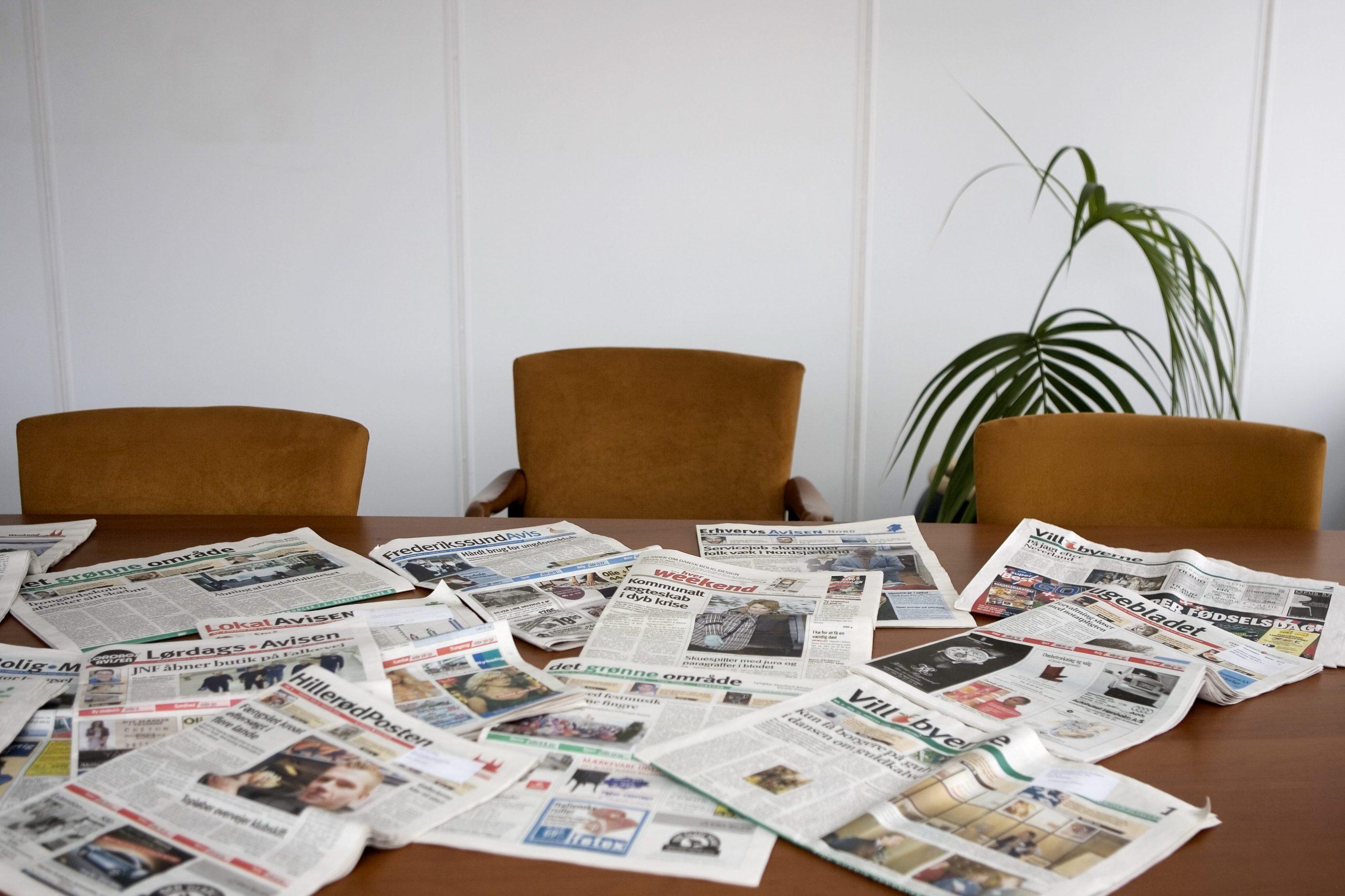 Sjællandske lukker og fusionerer ugeaviser på grund af corona-krisen