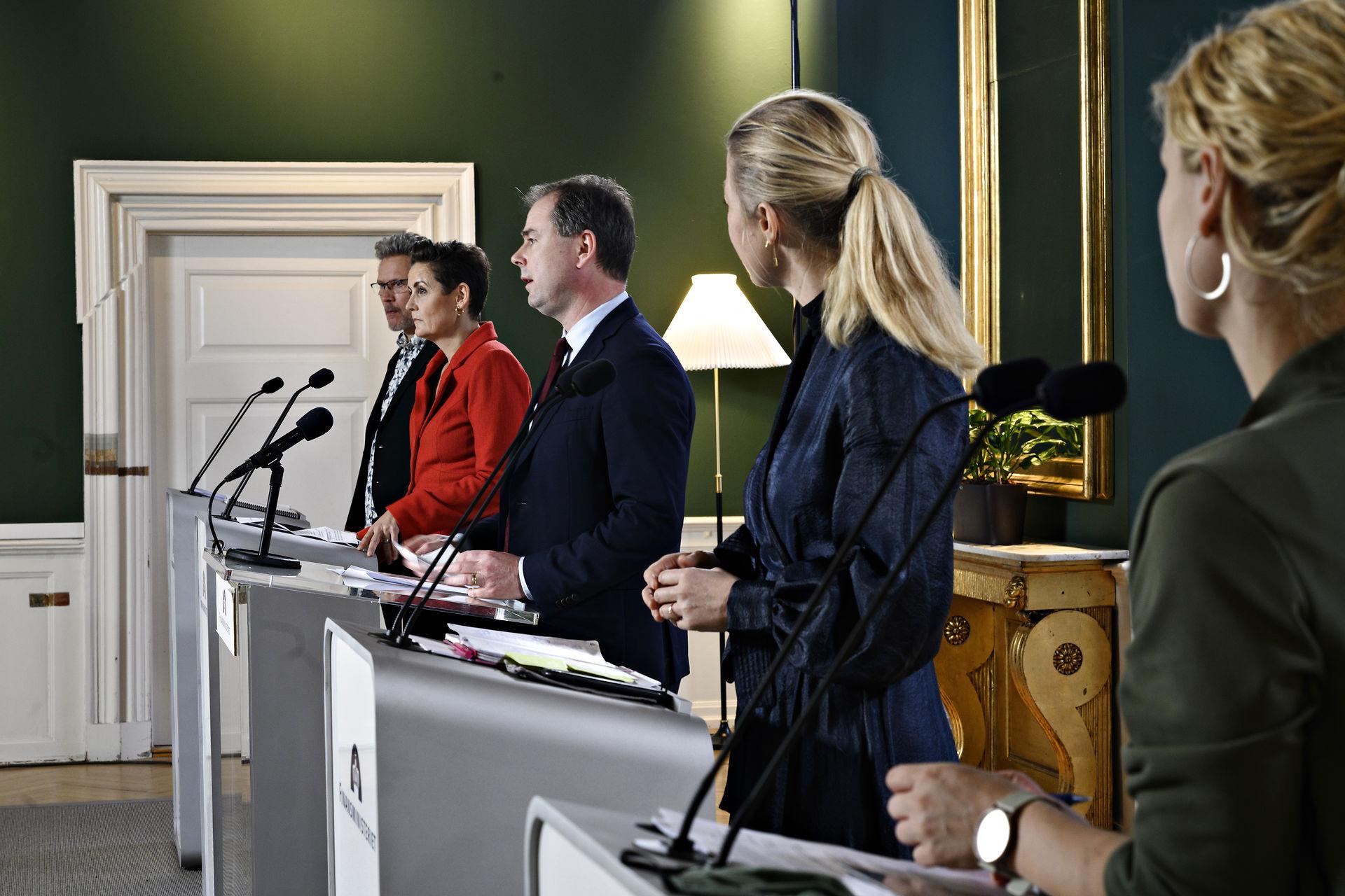 Finanslovsforhandlinger slår bundrekord i mediedækning