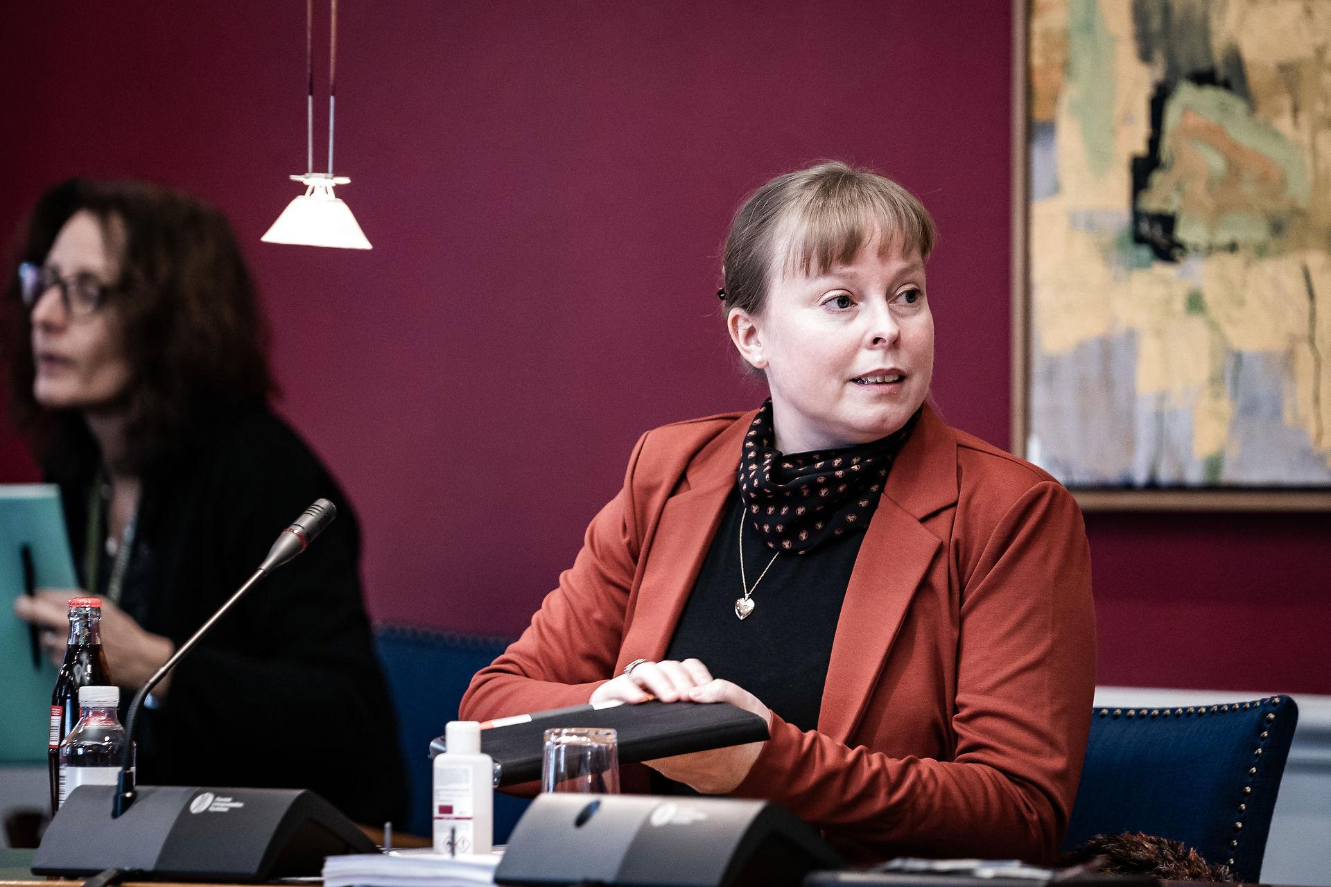 Joy Mogensen skal i samråd om corona-forsinkede medieforhandlinger